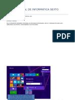 Taller Virtual de Informatica Sexto Grado