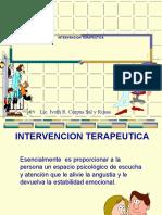 Intervención Psicoterapeútica