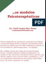 Modelos Pscioterapeúticos