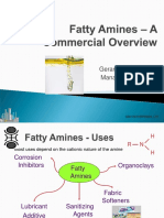 Fatty Amines - A Commercial Overview