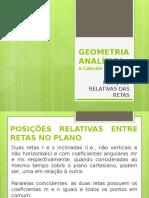 Geometria Analítica - Posição Relativa Das Retas