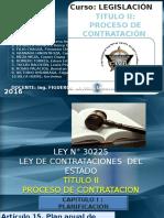 Titulo II - Proceso de Contratación-exposición