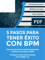 5 Pasos Para Tener Exito Con BPM