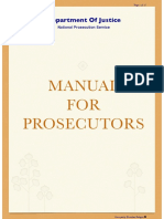 2008 Prosecutor's Manual