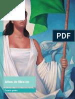 Primaria Cuarto Grado Atlas de Mexico Libro de Texto