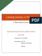 Leasing Industry in Pakistan