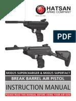 Mod 25 Super Charger Manual Gb
