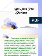 Insight Into The Qur'aan