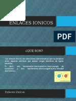 ENLACES IONICOS