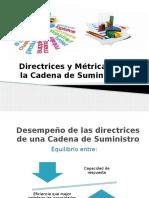 Directrices y Metricas de La Cadena de Suministro