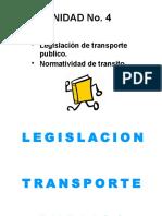 Normatividad Transporte y Codigo de Transito