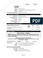 Gentrol Material Data Safety Sheet
