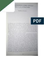 Interdiscursividad en La Crítica de Las Artes, Angélica Tornero