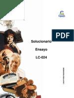 Solucionario LC-024 2016