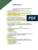 Examen de Biomecánica II