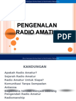 Pengenalan Tentang Aktiviti Radio Amatur - Skmmi