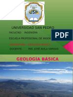 Diapositivas Introduccion a La Geologia