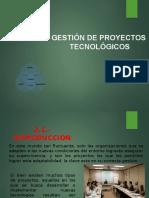 Capitulo 2.- Gerencia de Proyectos Tecnologicos