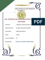 Monografia de Derecho Genetico