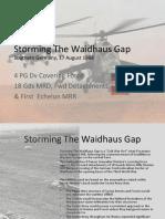 Storming the Waid Ha Us Gap