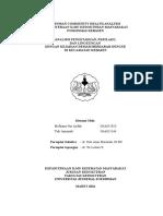 Laporan Community Health Analysis Cover