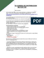 Distribucin motor f4r renault