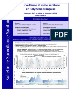 Bulletin de Surveillance Sanitaire  octobre 2016
