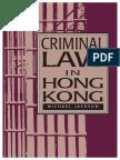 Criminal Law in Hong Kong