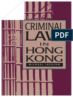 Criminal Law in Hong Kong