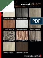 Brochure Arredondo Select Colores