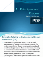 2. EIA Principles and Policy