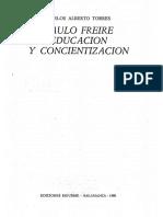Freire Paulo - Educacion Y Concientizacion (1980)