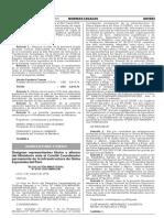 RESOLUCION MINISTERIAL N° 0515-2016-MINAGRI