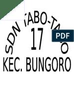 Sd Tabo Tabo