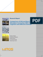 Comparison of Old and New Driver Education Curriculumn (DEC) From Cognitive and Affective Domain