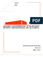 El Museo de La Universidad de Alicante