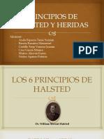 Principios de Halsted y Heridas