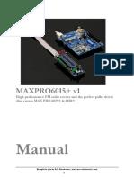 Manual Maxpro6015 6050V1 En