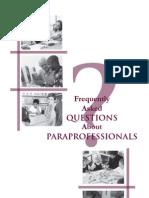 Paraprofessionals FAQ