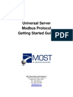 Modbus Getting Started