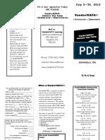 Van Der Math Brochure