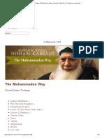 Enter 9 States of Perfection, 9 Sultan Al Awliya, Sultan Zikr _ the Muhammadan Way