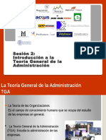 Sesión 2 - Introducción a La Administracion