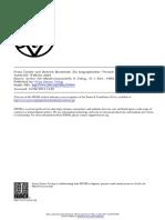 Archiv Für Musikwissenschaft Volume 8 Issue 1 1926 [Doi 10.2307%2F929894] Wilhelm Stahl -- Franz Tunder Und Dietrich Buxtehude. Ein Biographischer Versuch