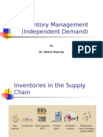 Inventory Management (Ind. Demand)