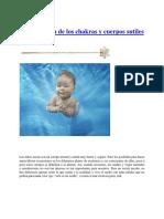La Formación de Los Chakras y Cuerpos Sutiles en Los Niños