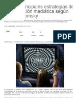 Las 10 principales estrategias de manipulación mediática según Noam Chomsky « Pijamasurf - Noticias e Información alternativa