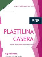 Plastilina Casera