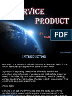 Service Product