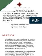 1. Rolando Vila - Gustavo Garcia (Ecuador)